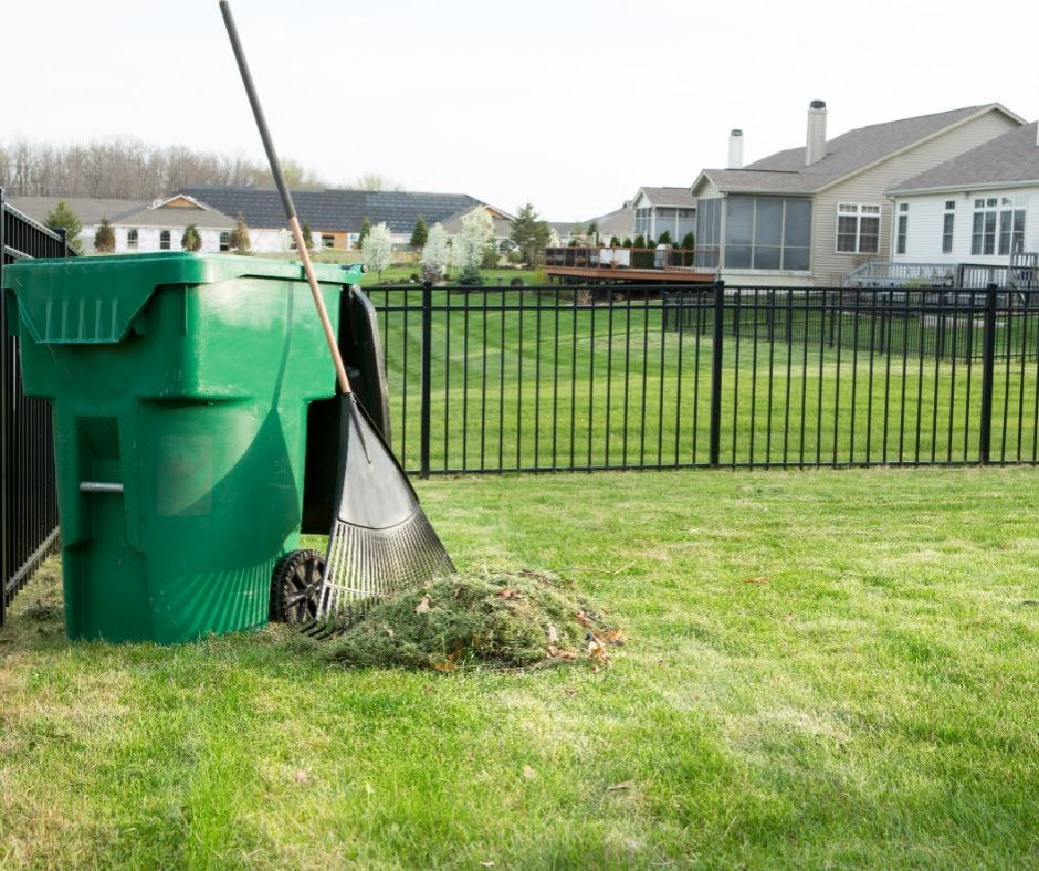 Lawn waste removal in Frankston